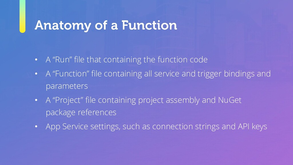 """• A """"Run"""" file that containing the function cod..."""