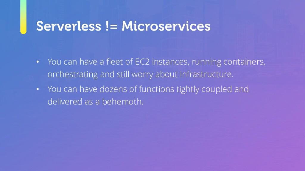 • You can have a fleet of EC2 instances, runnin...