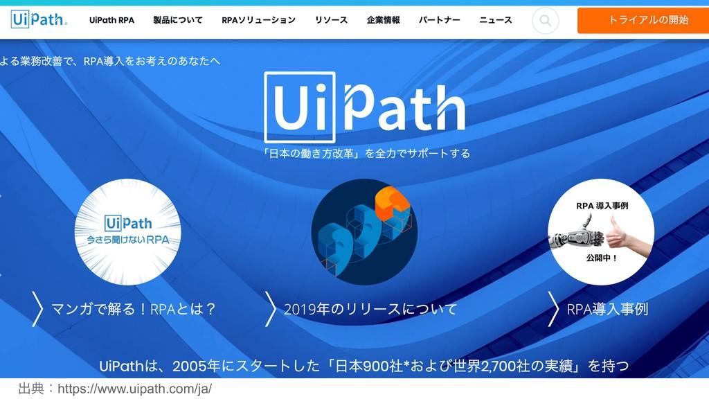 ग़యɿhttps://www.uipath.com/ja/