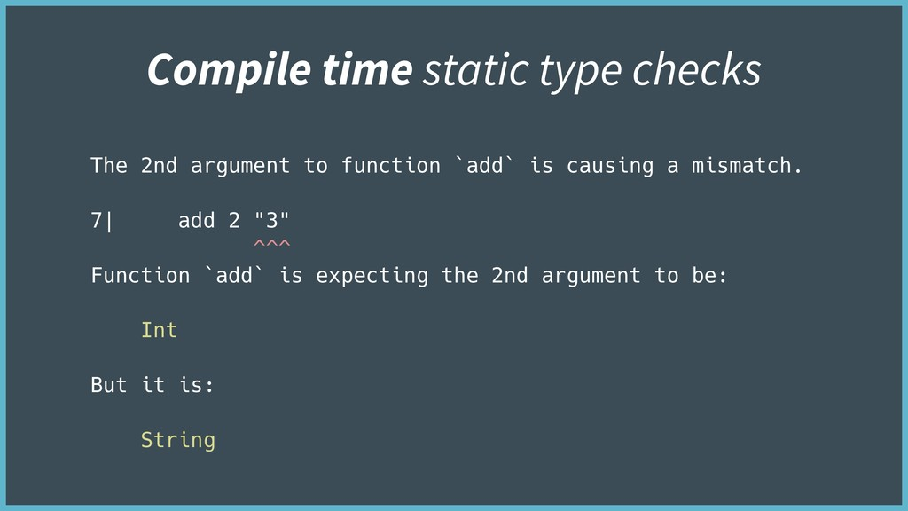 The 2nd argument to function `add` is causing a...