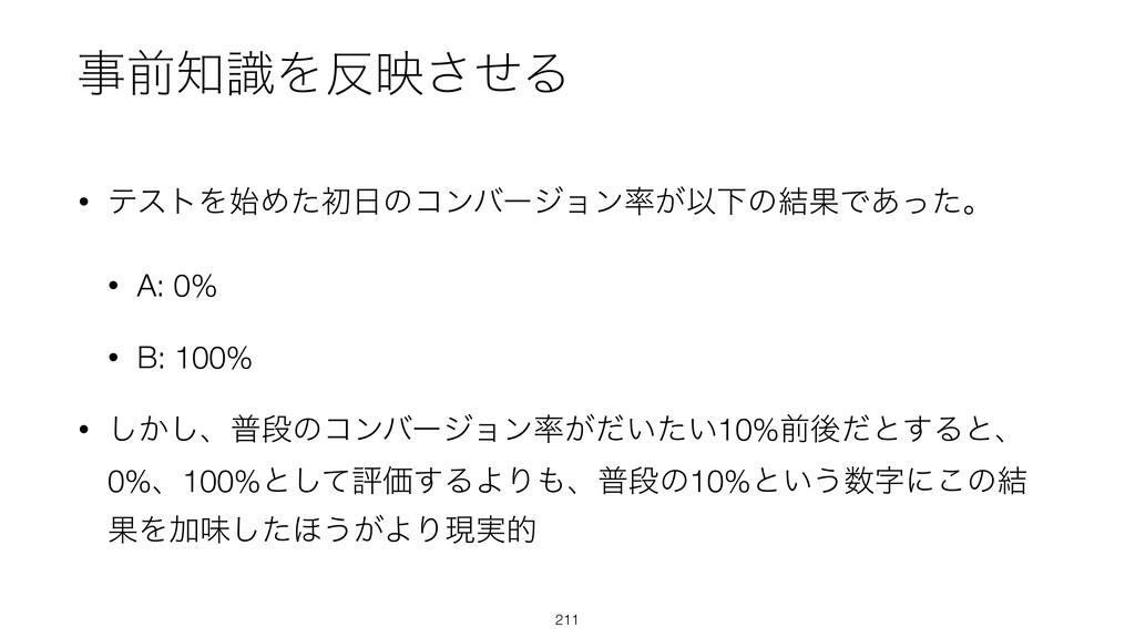• ςετΛΊͨॳͷίϯόʔδϣϯ͕ҎԼͷ݁ՌͰ͋ͬͨɻ • A: 0% • B: 10...
