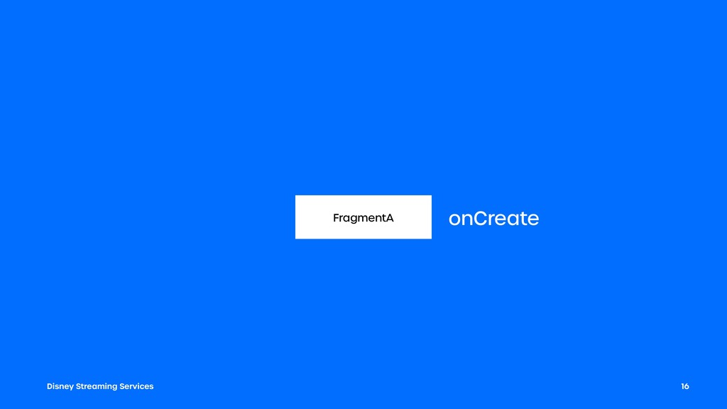 Disney Streaming Services 16 FragmentA onCreate