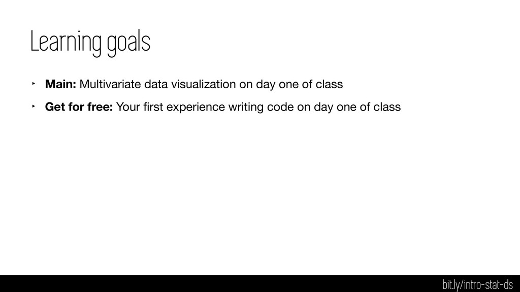 Learning goals ‣ Main: Multivariate data visual...