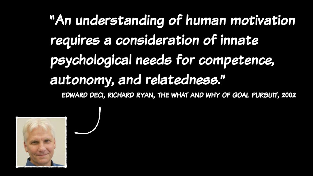 """An understanding of human motivation requires ..."