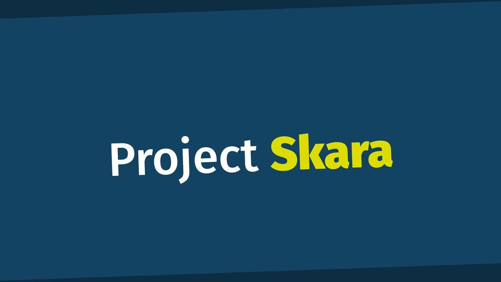 Project Skara