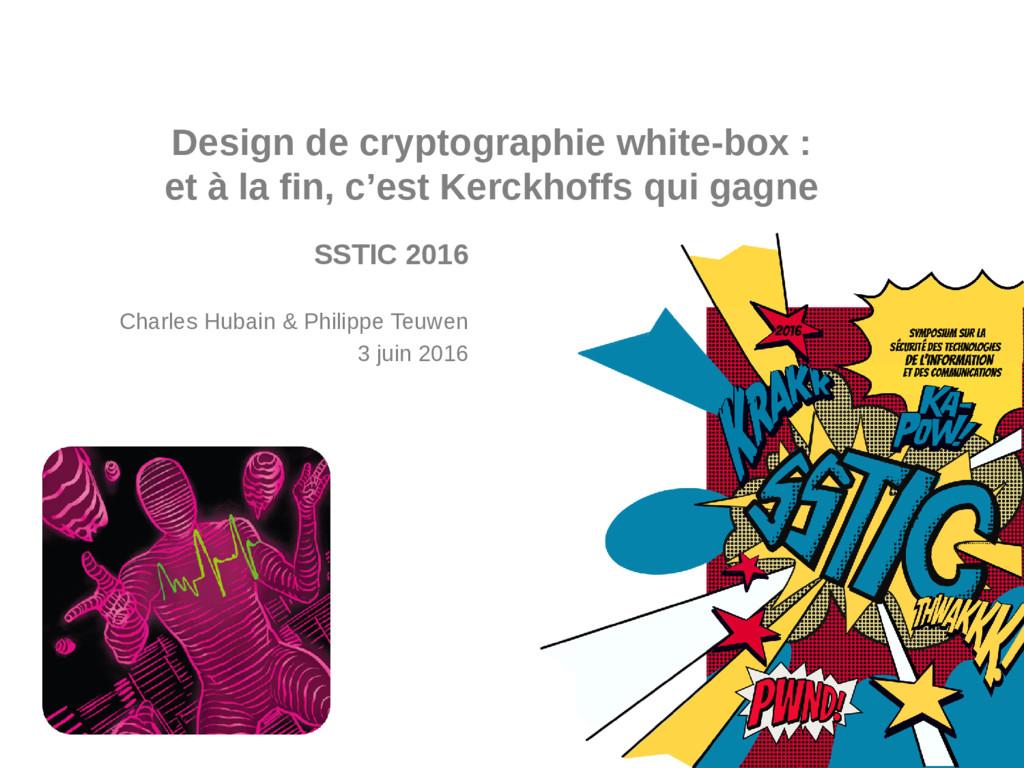 COMPANY CONFIDENTIAL Design de cryptographie wh...