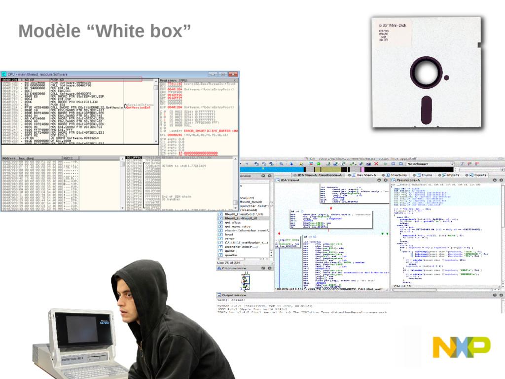 """Modèle """"White box"""""""