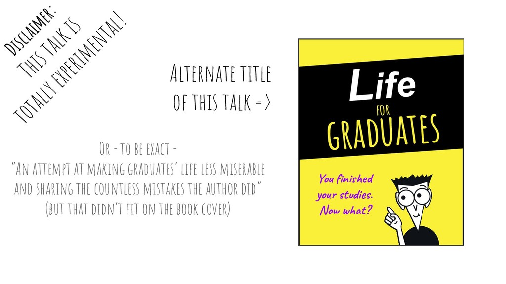 """Or - to be exact - """"An attempt at making gradua..."""