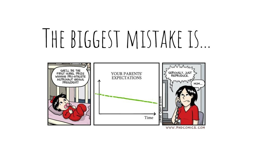 The biggest mistake is...