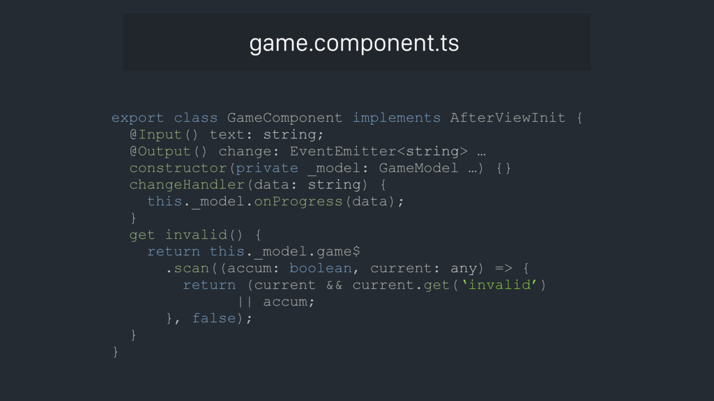 export class GameComponent implements AfterView...
