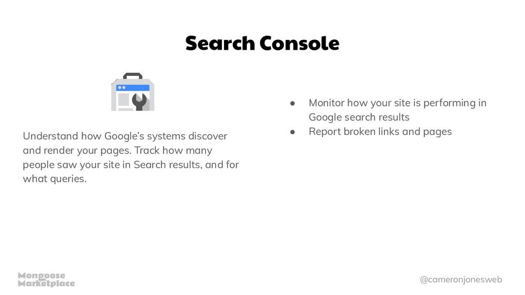 @cameronjonesweb Search Console Understand how ...