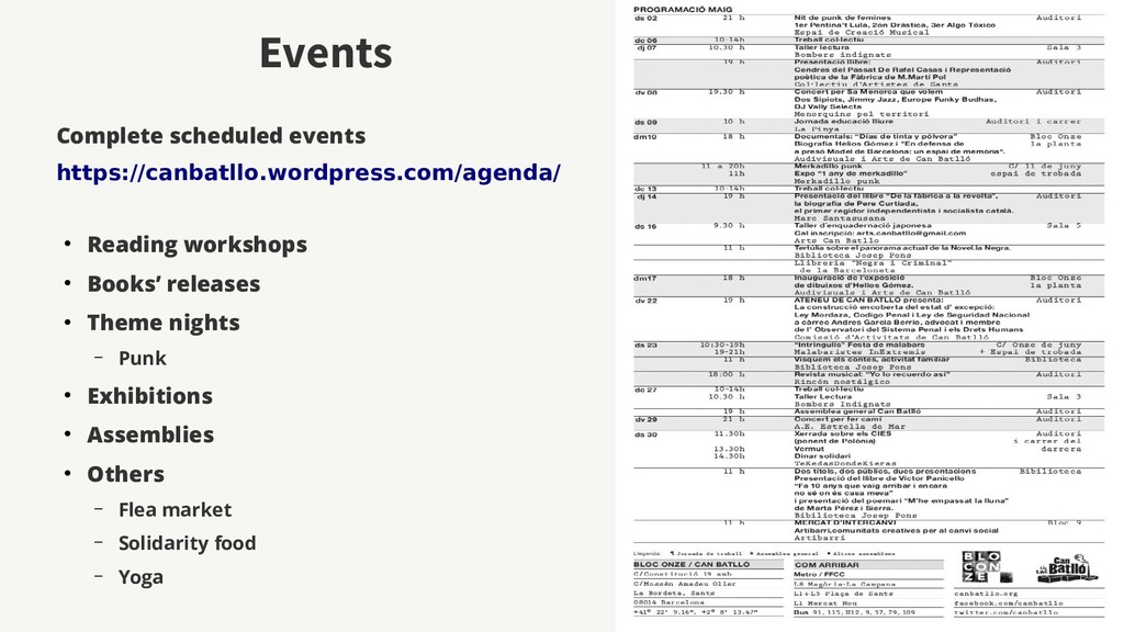 Events Complete scheduled events https://canbat...