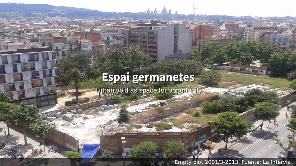 Empty plot 2001/3-2013. Fuente: La Intervía Esp...