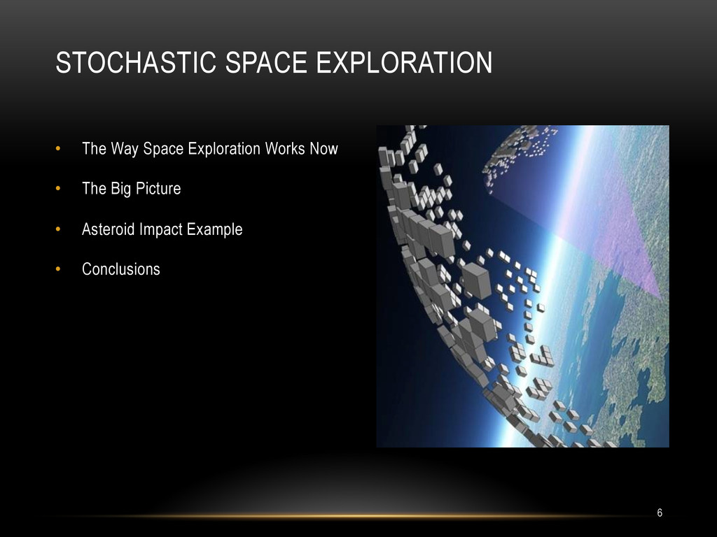 • The Way Space Exploration Works Now • The B...