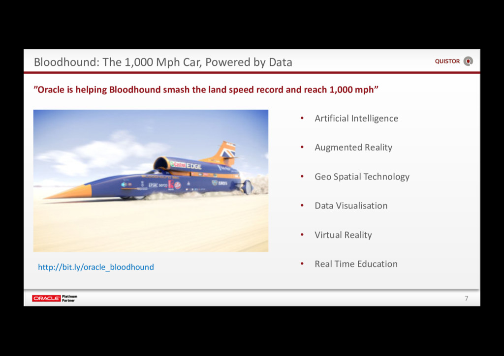 7 Bloodhound: The 1,000 Mph Car, Powered by Dat...