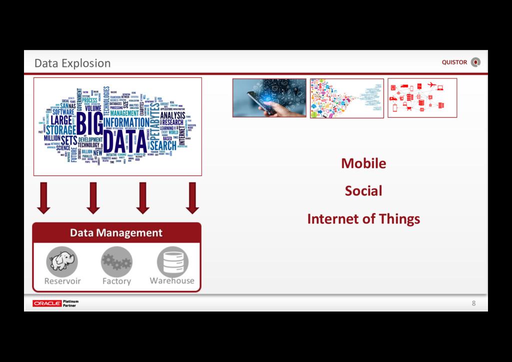 8 Data Explosion Mobile Social Internet of Thin...