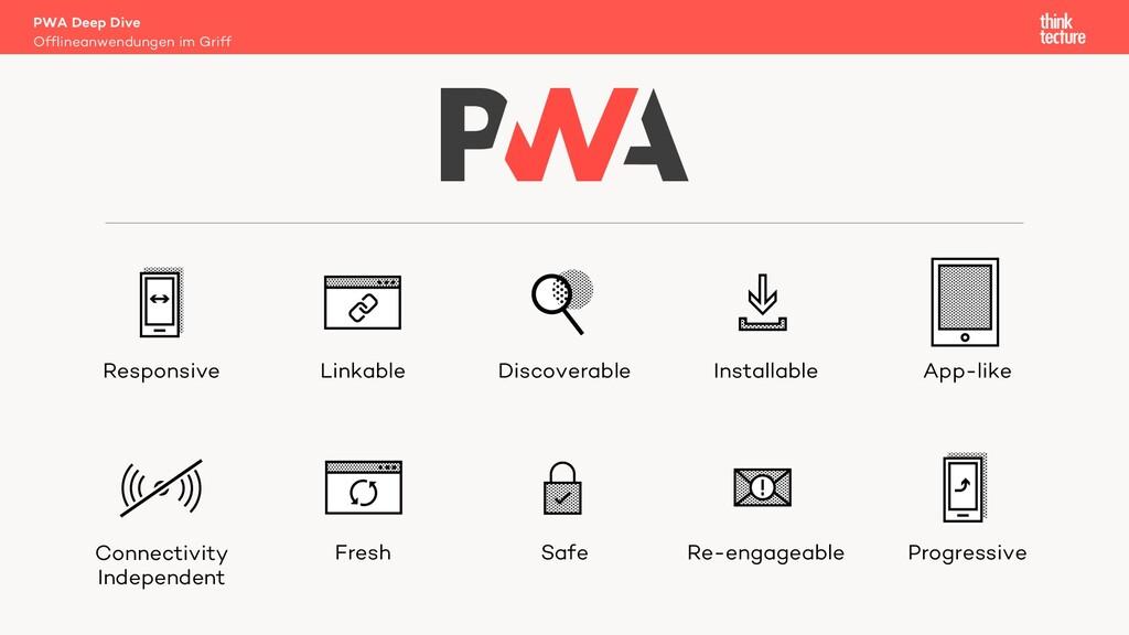PWA Deep Dive Offlineanwendungen im Griff Respo...