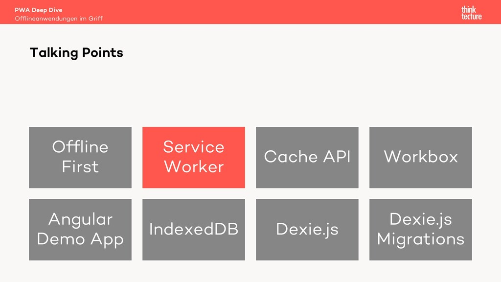 Offline First Service Worker Cache API Workbox ...