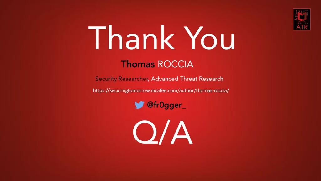 30 CNES COMET SSI - Thomas Roccia – 2018 Thank ...
