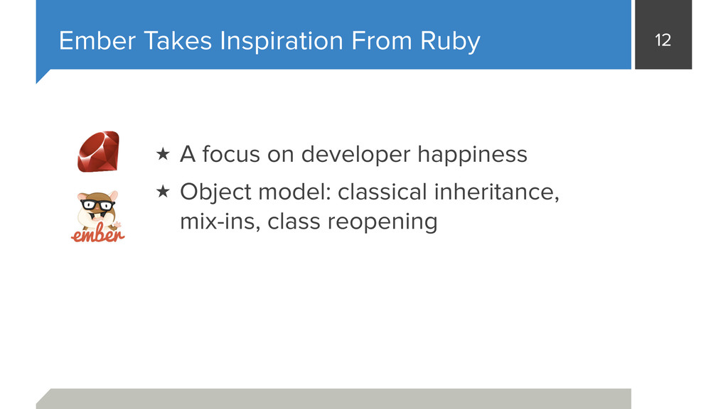 12 Ember Takes Inspiration From Ruby ★ A focus ...
