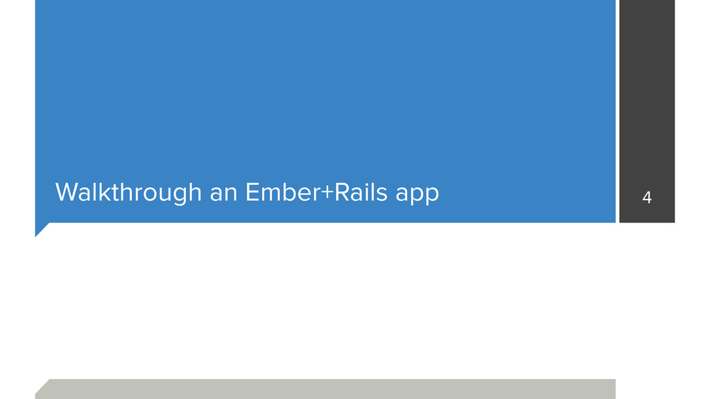 Walkthrough an Ember+Rails app 4