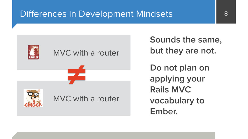 8 Differences in Development Mindsets MVC with a...