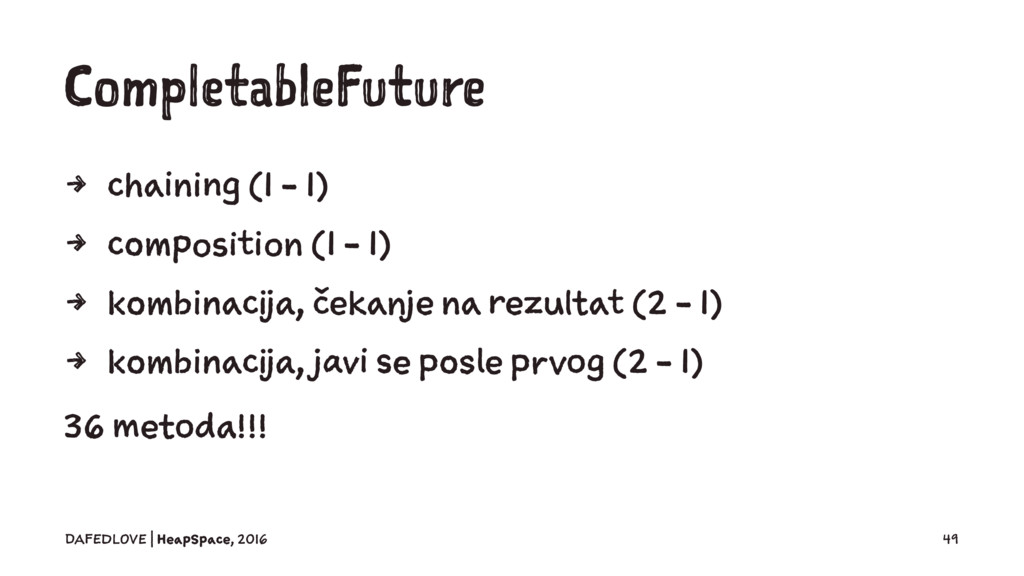 CompletableFuture 4 chaining (1 - 1) 4 composit...