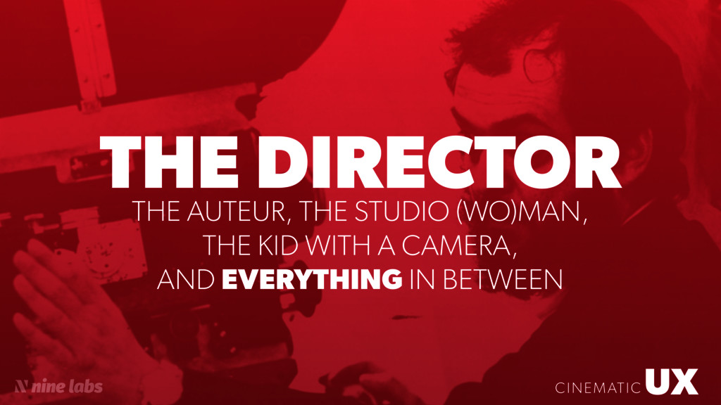 UX CINEMATIC THE DIRECTOR UX CINEMATIC THE AUTE...