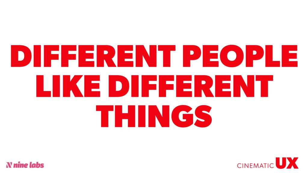 @sbradweaver DIFFERENT PEOPLE LIKE DIFFERENT TH...
