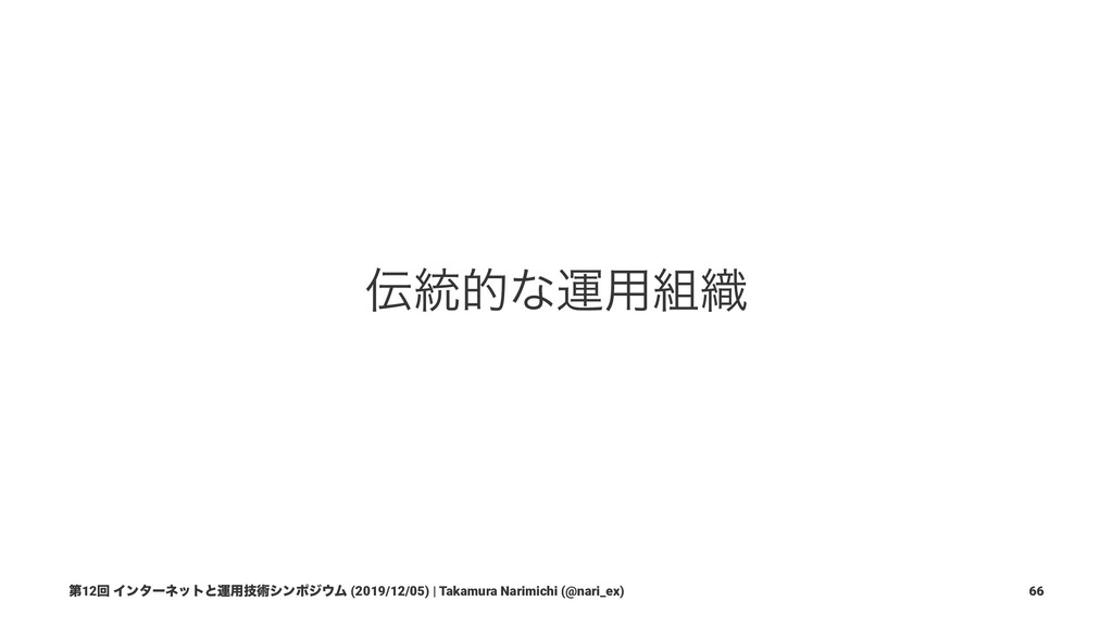 3. ӡ༻৫ͷӡ༻ ୈ12ճ Πϯλʔωοτͱӡ༻ٕज़γϯϙδϜ (2019/12/05)...