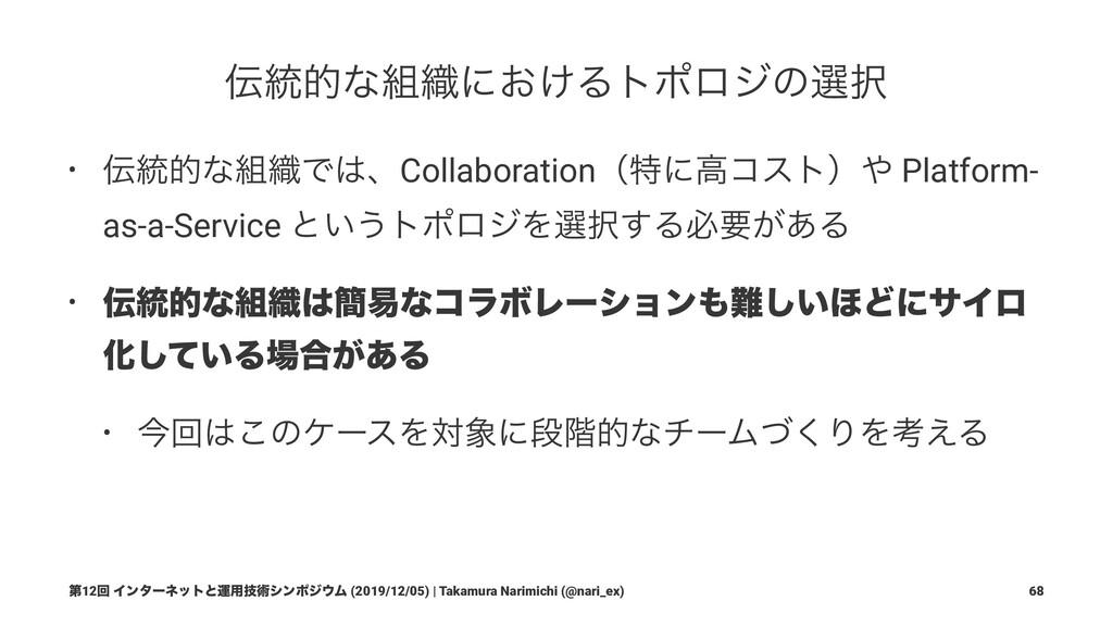 ୈ12ճ Πϯλʔωοτͱӡ༻ٕज़γϯϙδϜ (2019/12/05) | Takamura...