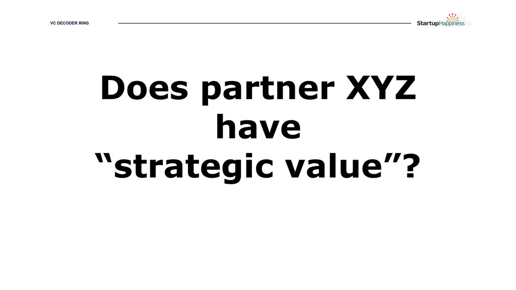 "GROWING YOUR HAPPINESS Does partner XYZ have ""s..."