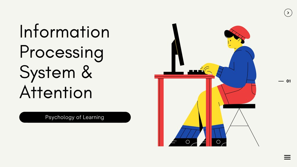 Information Processing System & Attention 01 Ps...