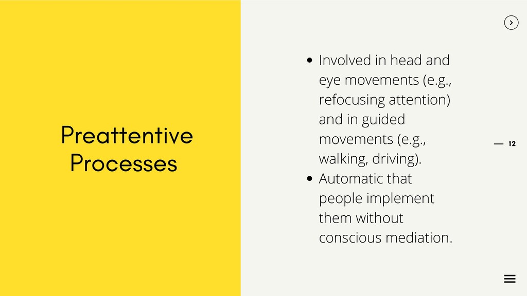 12 Preattentive Processes Involved in head and ...
