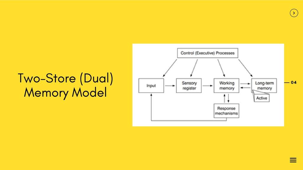 04 Two-Store (Dual) Memory Model