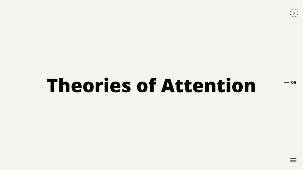 Theories of Attention 08