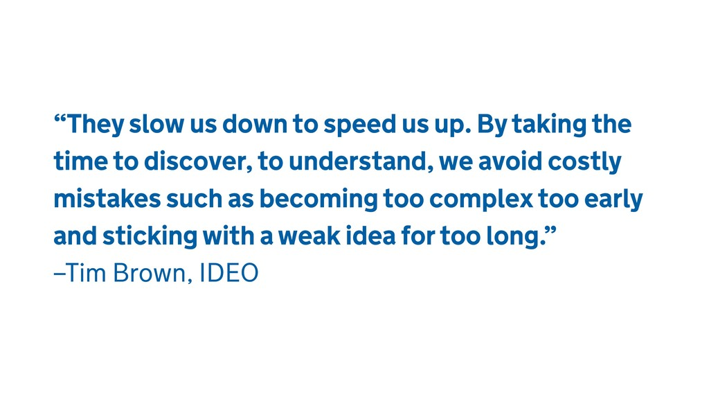 """""""They slow us down to speed us up. By taking th..."""