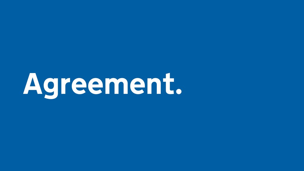 Agreement.