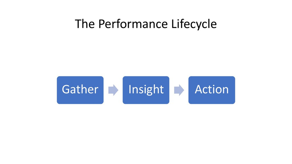 The Performance Lifecycle Gather Insight Action