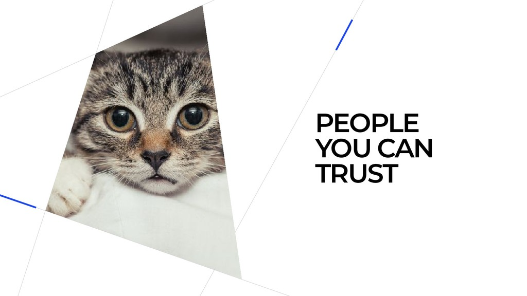 PEOPLE YOU CAN TRUST