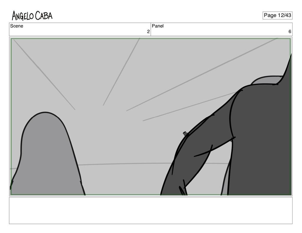 Scene 2 Panel 6 Page 12/43