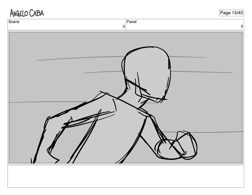 Scene 3 Panel 3 Page 15/43