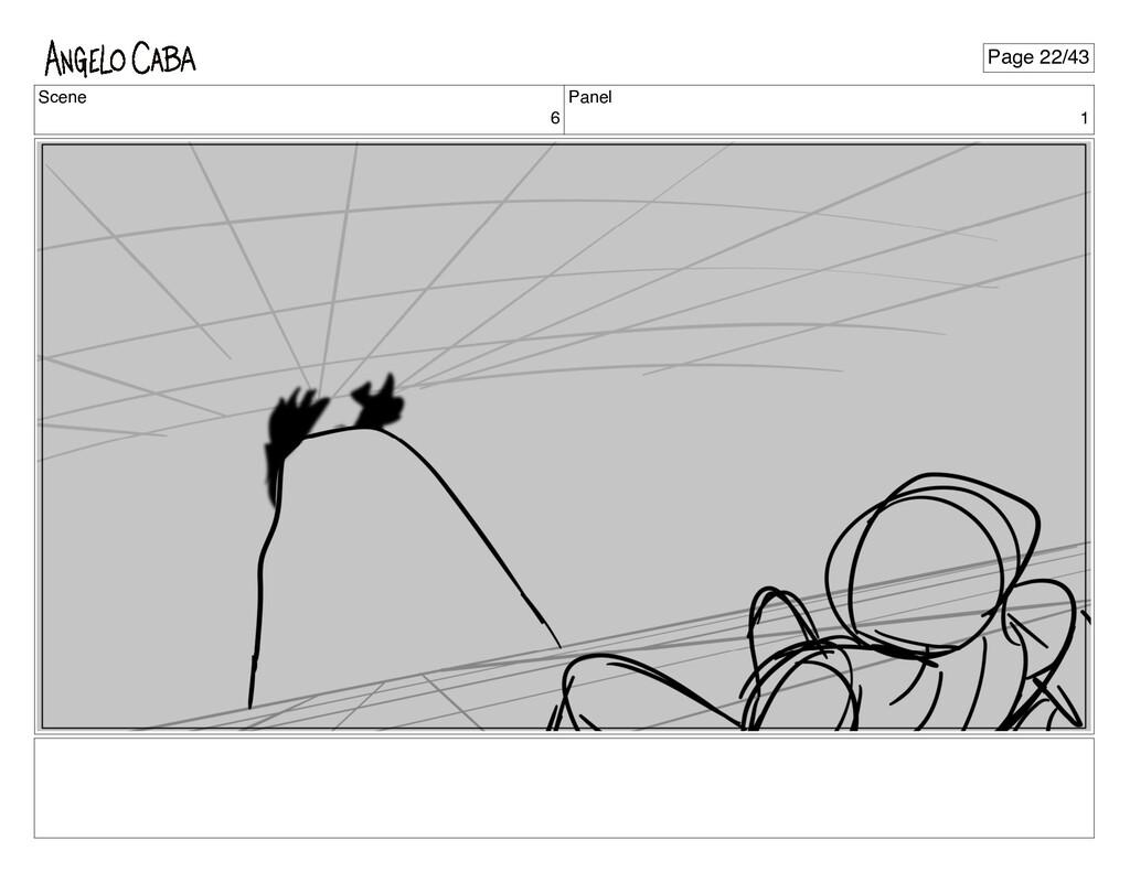 Scene 6 Panel 1 Page 22/43
