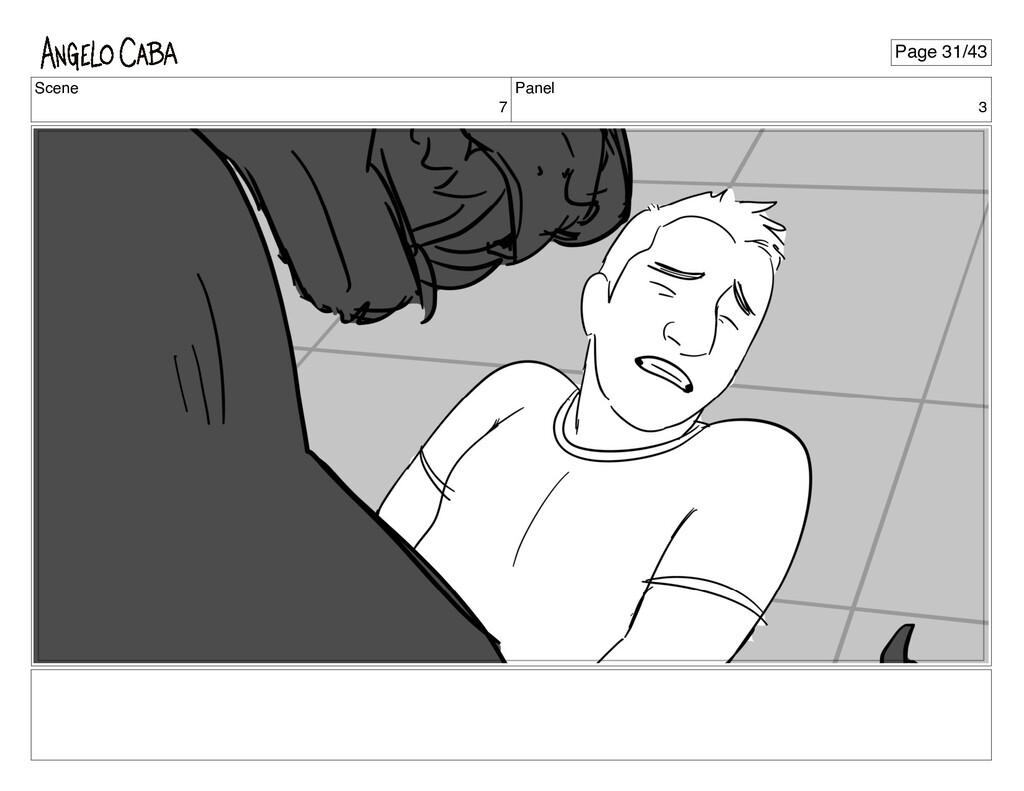 Scene 7 Panel 3 Page 31/43