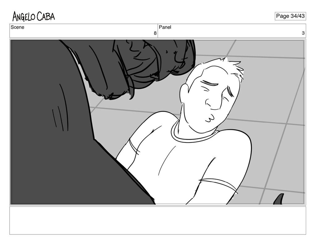 Scene 8 Panel 3 Page 34/43