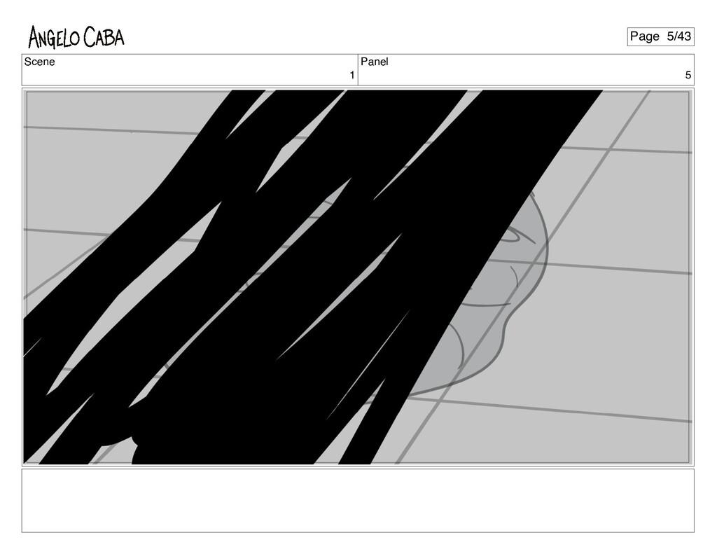 Scene 1 Panel 5 Page 5/43
