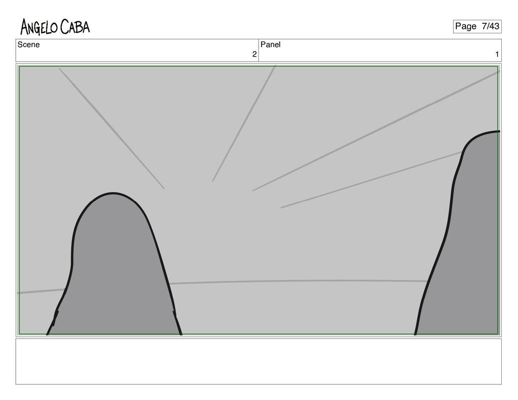 Scene 2 Panel 1 Page 7/43