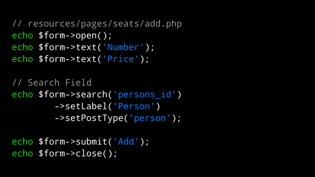 // resources/pages/seats/add.php echo $form->op...