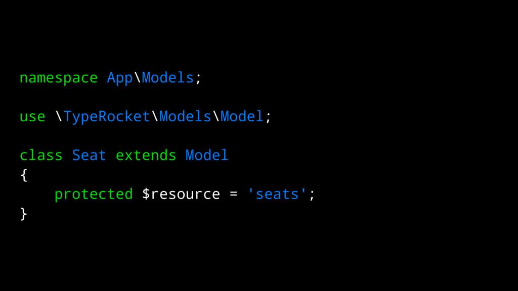 namespace App\Models; use \TypeRocket\Models\Mo...