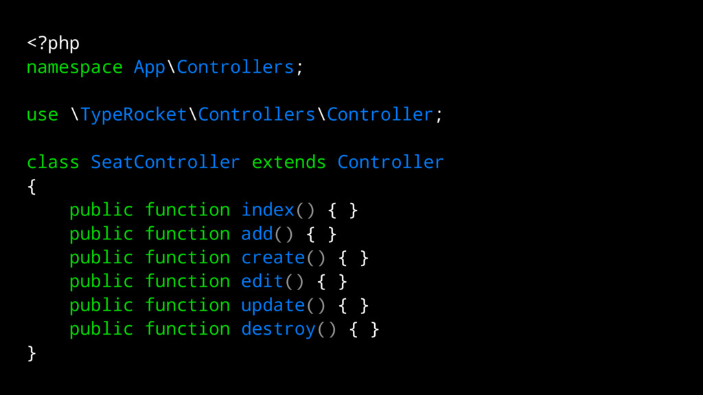 <?php namespace App\Controllers; use \TypeRocke...